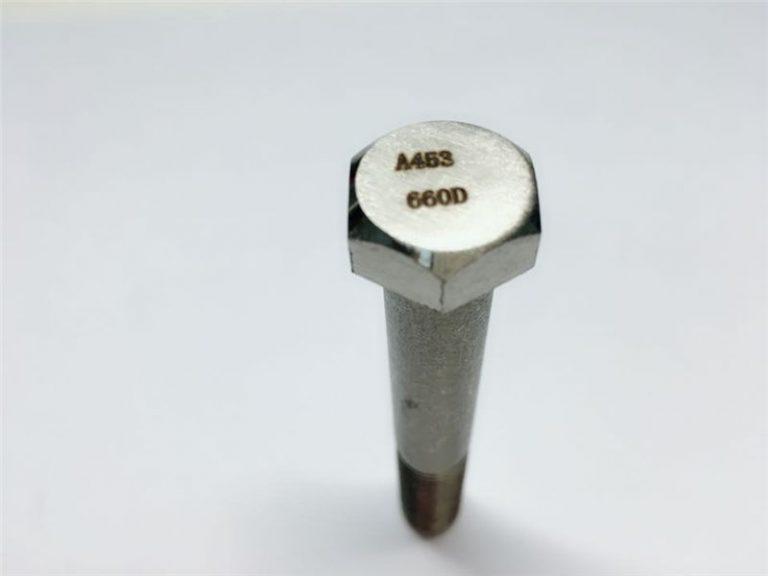 a286 kiváló minőségű kötőelemek astm a453 660 en1.4980 hardver gépcsavar rögzítések