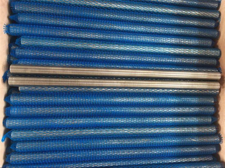 nikkel ötvözet inconel601 / 2.4851 trapéz menetes rúd új termékek