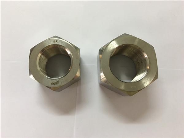 N45-ötvözet gyártása a453 660 1,4980 hexanyák
