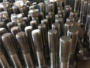 No.12-hex csavarok ISO4014 félmenet A193 B8, B8M, B8T, B8C SS rögzítő