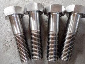 No.15-Nitronic 50 XM-19 Hex csavar DIN931 UNS S20910