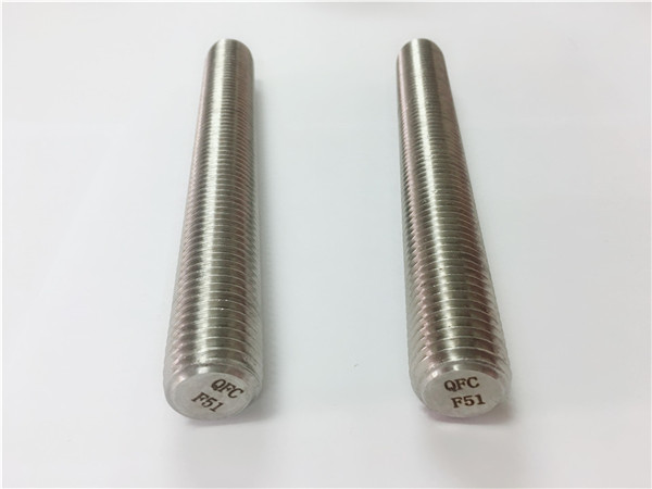 duplex2205 / s32205 rozsdamentes acél rögzítőelemek din975 / din976 menetes rudak f51
