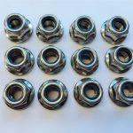 316l, 317l, 310s, 1,4462, 1,4410 nylon nuts