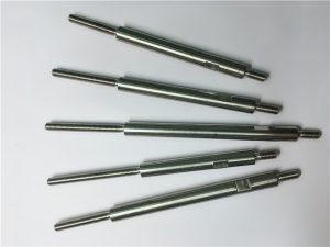 cnc precíziós megmunkálás rozsdamentes acél menetes kötőelemek