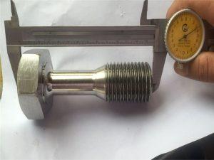 egyedi CNC esztergált alkatrészek precíziós megmunkáló csavar rögzítő