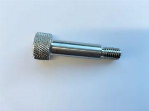 testreszabható aljzat hatszögletű fej sapka 18-8 rozsdamentes acél vállcsavar