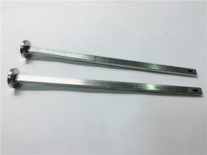 316 rozsdamentes acél laposfejű, négyzet alakú nyakú din603 m4 tartócsavar
