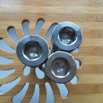 kiváló minőségű ASEM hex aljzat titán gr2 csavar / csavar / anya / alátét /