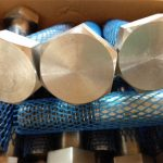 nagyméretű mechanikus rögzítőelemek nagy szilárdságú hatszögletű csavar és anya