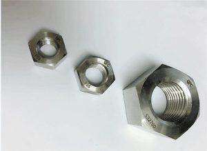 Duplex 2205 / F55 / 1.4501 / S32760 rozsdamentes acél rögzítők, nehéz hexan M20