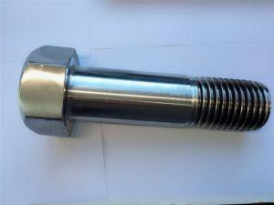 szuper duplex rozsdamentes acél din931 fél menetes hatszögletű csavar